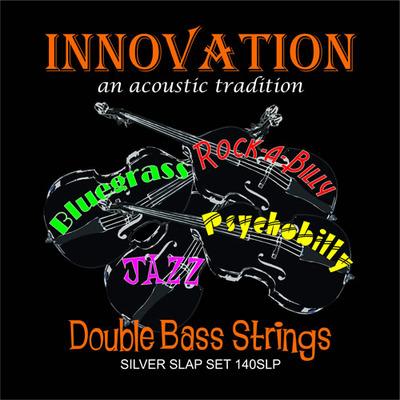 Innovation Double Bass Strings BLACK